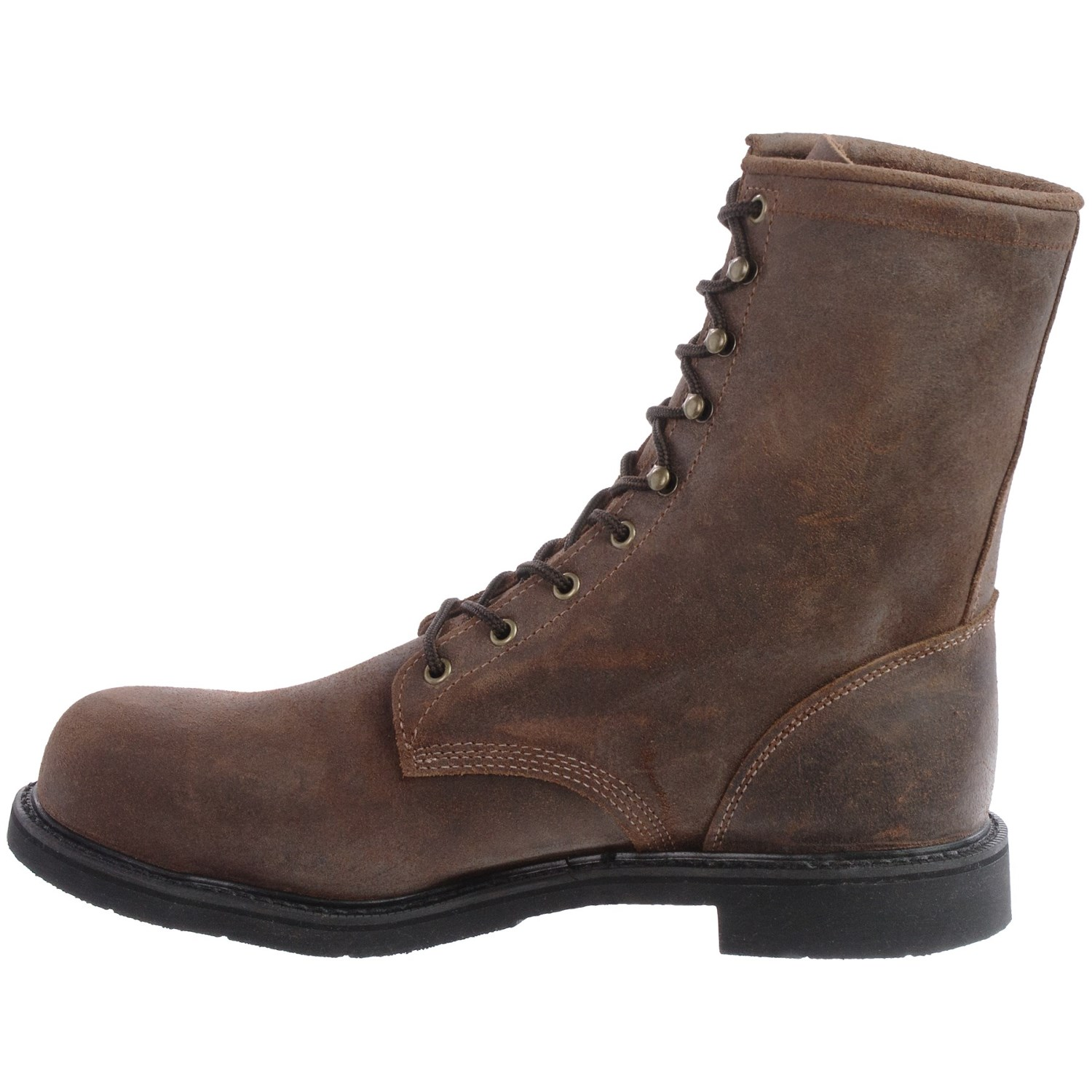 Justin Boots Dark Mountain Leather Work Boots (For Men) - Save 46%