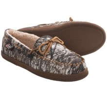 Justin Boots Mossy Oak® Moccasin Slippers - Faux Fur (For Men) in Mossy Oak - Closeouts