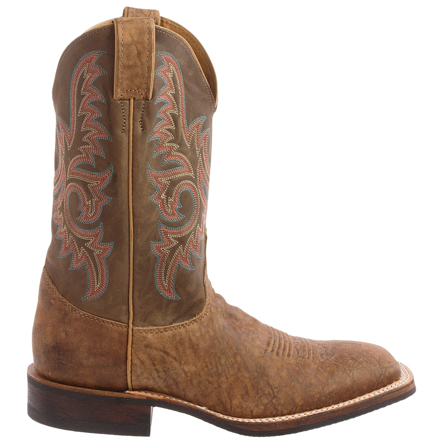 justin boots map bent rail cowboy boots for
