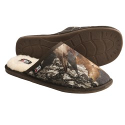 Justin Boots Open Back Slippers (For Men) in Mossy Oak