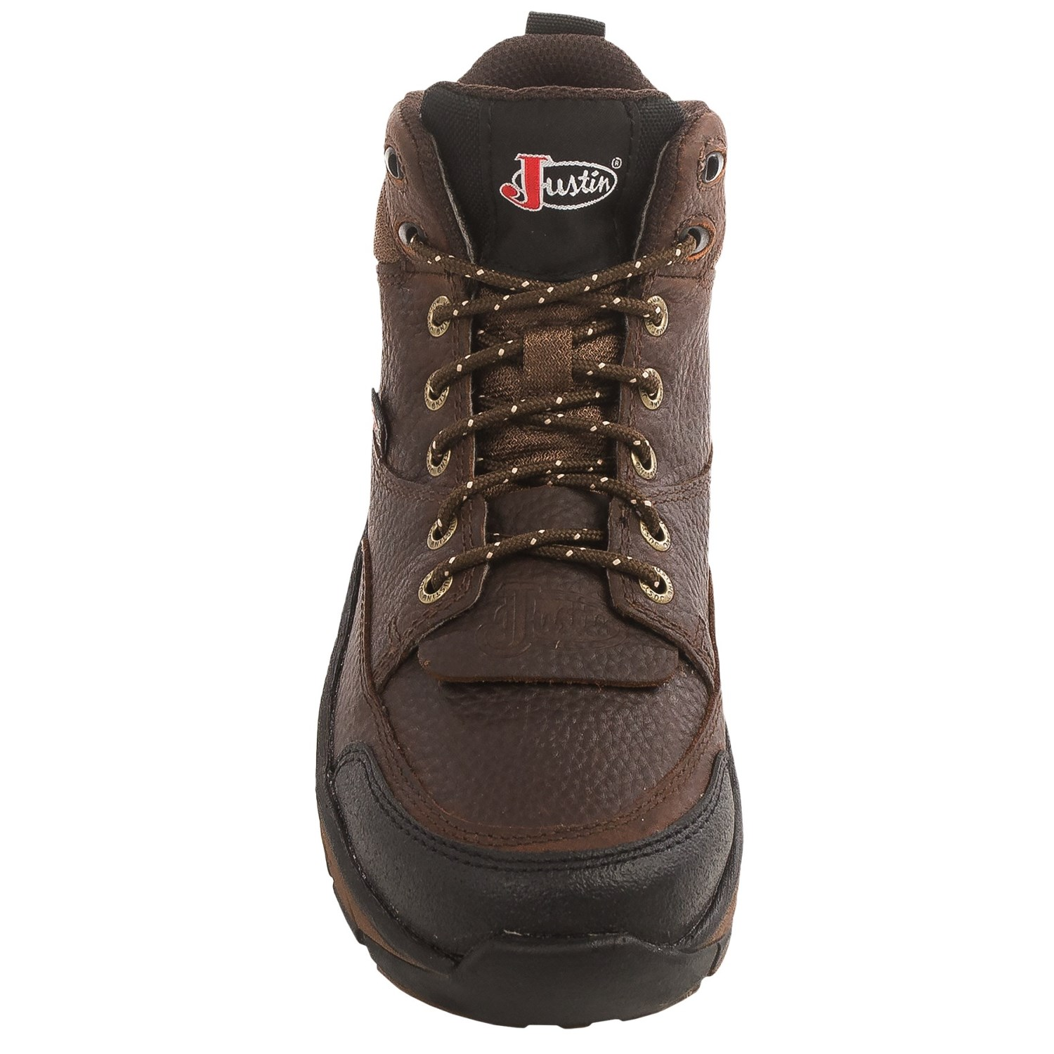 justin boots pebbled copper kettle stede utility boots