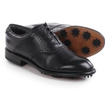 Justin Golf Phantom Golf Shoes - Leather (For Men) in Black - Closeouts