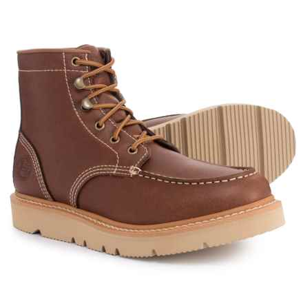 Justin Jacknife Moc-Toe Work Boots (For Men) in Tan - Closeouts