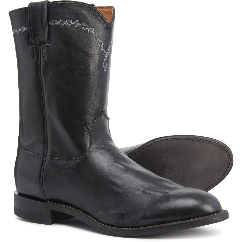 Justin Roper Cowboy Boots , 10\u201d, Factory 2nds (For Men)