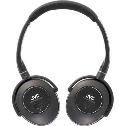 JVC Noise-Cancelling Headphones in Black - Closeouts