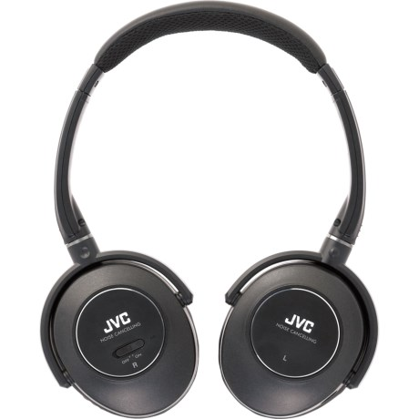 JVC Noise-Cancelling Headphones in Black