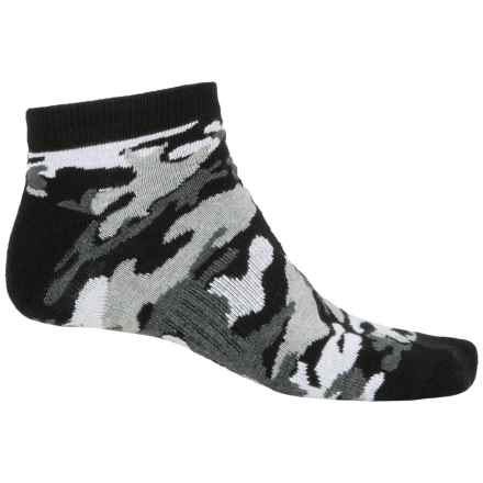 K. Bell Sport Camo Socks - Ankle (For Men) in Black - Closeouts