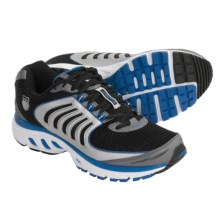 K-Swiss Keahou Running Shoes (For Men) in Charcoal/Silver/Imperial Blue - Closeouts