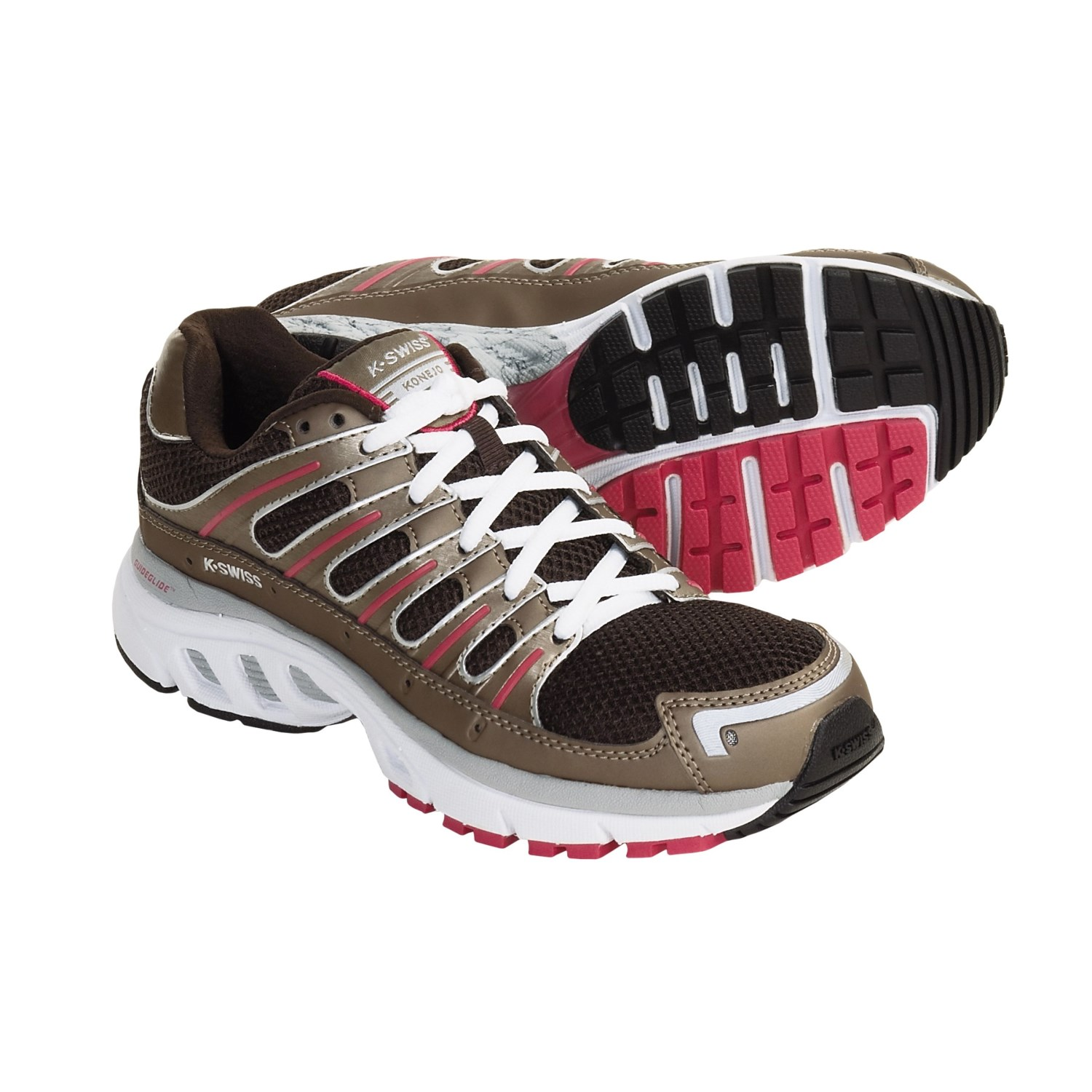 Swiss Konejo Running Shoes (For Women) in Choco/Bronze