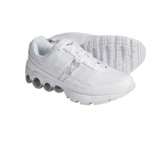 K-Swiss Shield Tubes Run 50 Running Shoes (For Men) in White/Silver - Closeouts