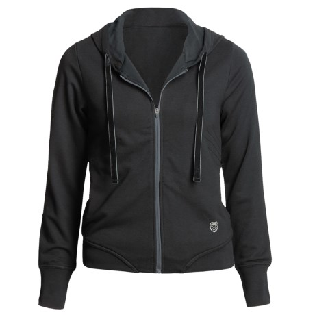 K-Swiss Warm Up Jacket (For Women) in Black