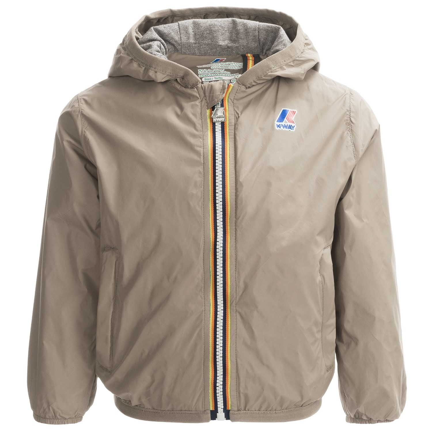 K-Way Lily Light Packable Rain Jacket (For Little and Big Kids ...