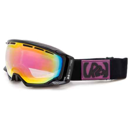 K2 Captura Ski Goggles - 65 VLT (For Women) in Black/Pink - Closeouts