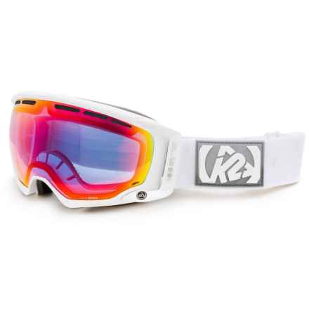 K2 Captura Ski Goggles - 65 VLT (For Women) in White/Blue - Closeouts