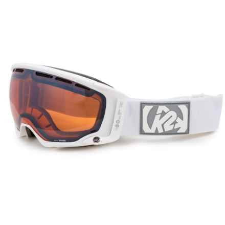 K2 Captura Ski Goggles - Octic Mirrored Lens in Sonar - Closeouts