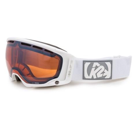 K2 Captura Ski Goggles - Octic Mirrored Lens in Sonar