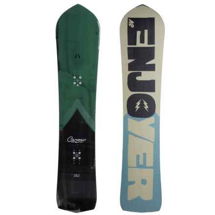 K2 Carve Air Snowboard in Black/Pine/Smog/Mist/Black - Closeouts