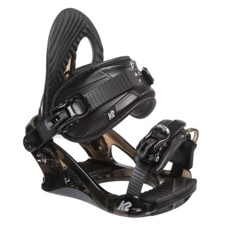 K2 Charm Snowboard Bindings (For Women) in Black
