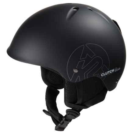 K2 Clutch Ski Helmet in Black - Closeouts