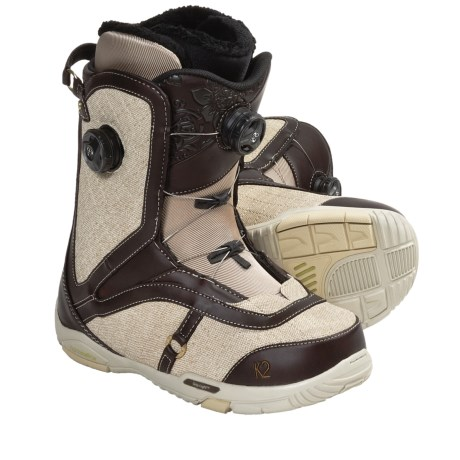 K2 Contour Snowboard Boots (For Women) in Olive