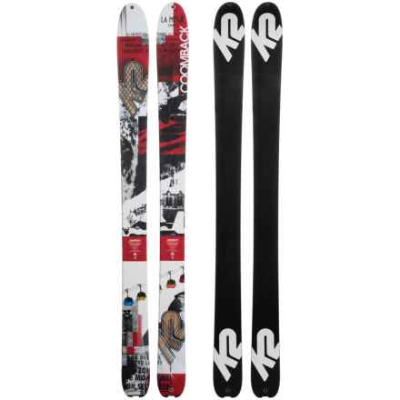 K2 Coomback 104 Alpine Skis in See Photo - Closeouts