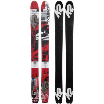K2 Coomback 114 Alpine Skis in See Photo - Closeouts