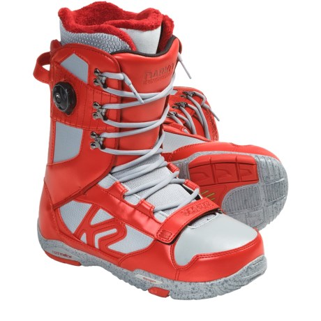 K2 Darko Snowboard Boots - BOA® (For Men) in Red