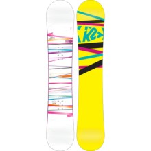 K2 First Lite Snowboard (For Women) in Graphic - Closeouts