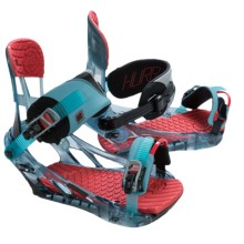 K2 Hurrithane Snowboard Bindings in Shark - Closeouts