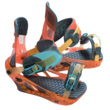 K2 Hurrithane Snowboard Bindings in Tequila Sunrise - Closeouts