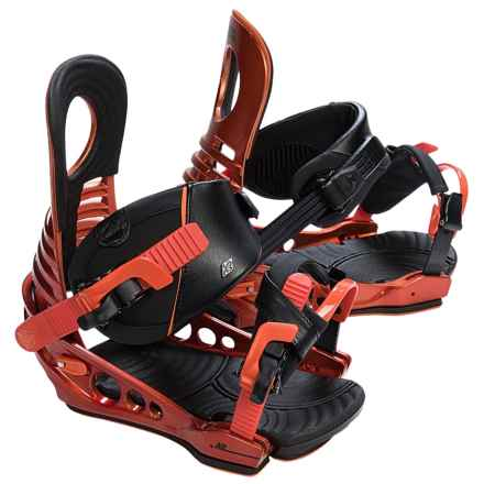 K2 Lien AT Snowboard Bindings in Fire - Closeouts