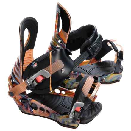 K2 Lien FS Snowboard Bindings in Psychedelic - Closeouts