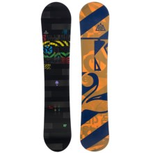 K2 Lifelike Snowboard - Wide in 157 Graphic - Closeouts