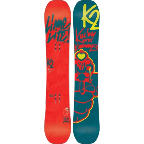 K2 Lime Lite Snowboard (For Women) in Graphic