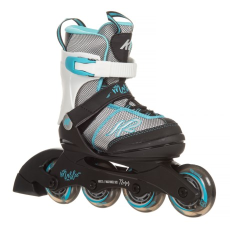 K2 Marlee Inline Skates (For Little and Big Girls) in Silver/Blue