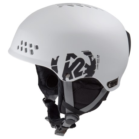 K2 Phase Pro Ski Helmet in White
