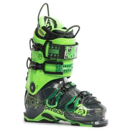 K2 Pinnacle 110 HV Alpine Touring Ski Boots in See Photo - Closeouts