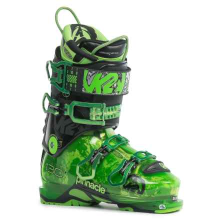 K2 Pinnacle 130 Alpine Touring Ski Boots in See Photo - Closeouts