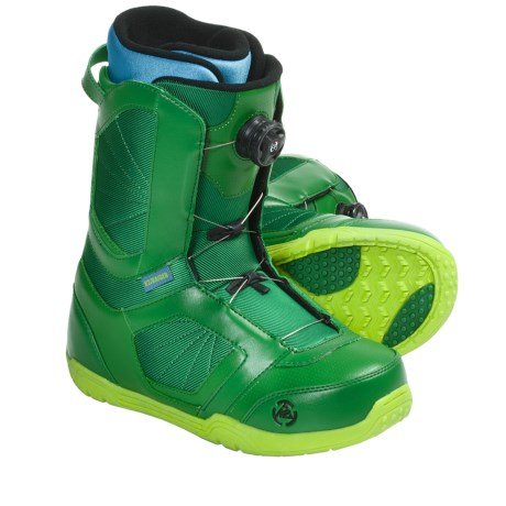 K2 Raider Snowboard Boots (For Men) in Green