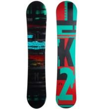 K2 Raygun Snowboard in Ominous W/Black Fiesta - Closeouts