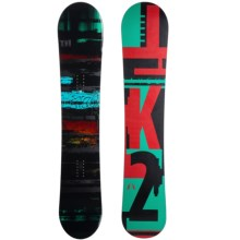K2 Raygun Snowboard in Ominous W/Red Fiesta - Closeouts
