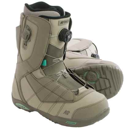 K2 Ryker BOA® Snowboard Boots (For Men) in Taupe - Closeouts