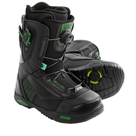 K2 Ryker Snowboard Boots (For Men) in Black