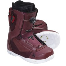 K2 Ryker Snowboard Boots (For Men) in Burgandy - Closeouts