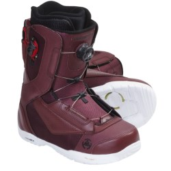 K2 Ryker Snowboard Boots (For Men) in Burgandy