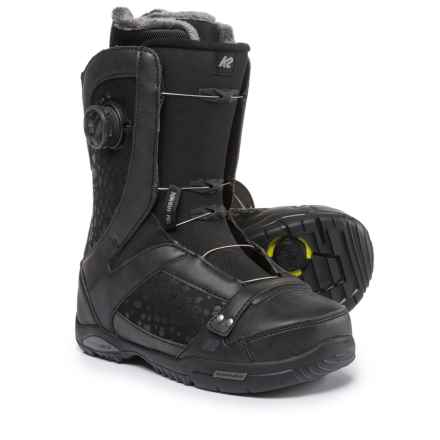 K2 Sapera BOA® Snowboard Boots (For Women) in Black - Closeouts