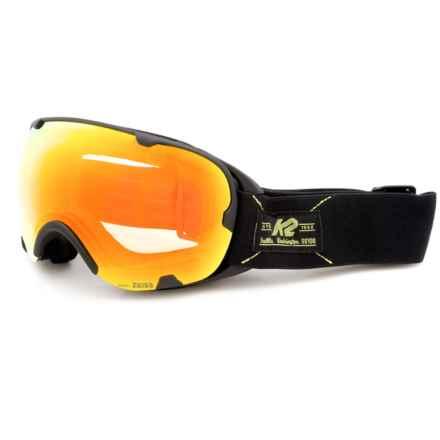 K2 Scene Z Ski Goggles in Black - Closeouts