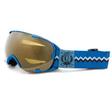 K2 Scene Z Ski Goggles in Navy Tribe - Closeouts