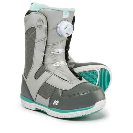 K2 Sendit BOA® Snowboard Boots (For Women) in Grey - Closeouts
