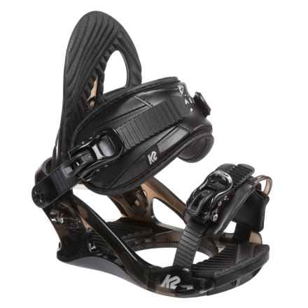 K2 Snowboard Bindings (For Women) in Black - Closeouts